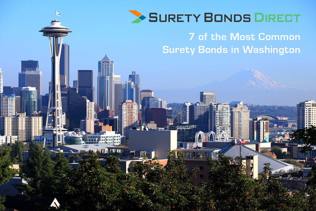 7 Of The Most Common Surety Bonds in Washington State