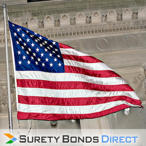 Flag. Public Official Bond for public officials to protect against violations of duty.