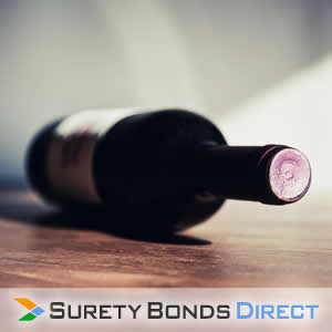 Wine Bottle. Wine Tax Bond for businesses engaged in the production, sale, and warehousing of wine.